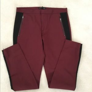 BANANA REPUBLIC BURGUNDY PANTS